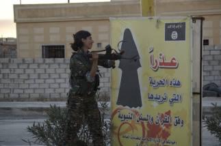 Från Lions of Rojava FB sida